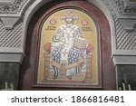 Religious Mosaics And Icons Of...
