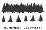 set of vector horizontal banner ... | Shutterstock .eps vector #1866946567