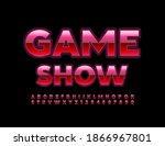 vector entertainment logo game...   Shutterstock .eps vector #1866967801