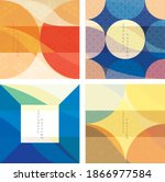 abstract architecture...   Shutterstock .eps vector #1866977584