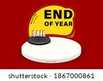 end of year sale banner  up to...   Shutterstock .eps vector #1867000861