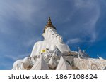 Five  White  Buddha  Statue ...