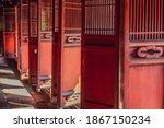Temple Of Literature In Hanoi...