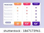 pricing tab. web pricing table  ...