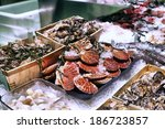 Showcase Of Seafood In The Sea...