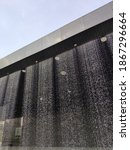 Countdown Clock, Water Curtain Architecture, Kuala Lumpur, Malaysia