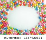 Colorful Bright Candy On A...