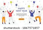 people celebrating new year...