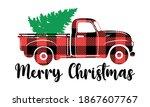 Green Christmas Tree On The...