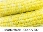 sweet corn   Shutterstock . vector #186777737