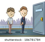 jobs seeker | Shutterstock .eps vector #186781784