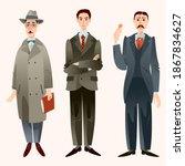 fernando pessoa  portugal  ... | Shutterstock .eps vector #1867834627