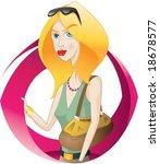 nice women | Shutterstock .eps vector #18678577
