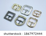 Set Of Decorative Buckles Made...