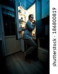 Photo Of Hungry Woman Eating A...