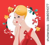 a vector illustration of a... | Shutterstock .eps vector #1868054377
