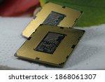 Close Up Desktop Processors...
