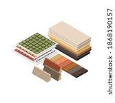 isometric 3d construction... | Shutterstock .eps vector #1868190157