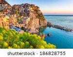 Cinque Terre  Italy   Italian...