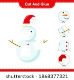 cut and glue  cut parts of... | Shutterstock .eps vector #1868377321
