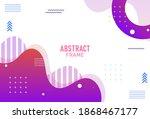 modern background. abstract...   Shutterstock .eps vector #1868467177