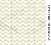 seamless vintage beige chevron... | Shutterstock .eps vector #186848159