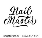 nail master   isolated... | Shutterstock .eps vector #1868514514