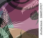 scarf floral pattern. bandana ...   Shutterstock .eps vector #1868515927