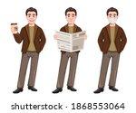 stock vector businessman...   Shutterstock .eps vector #1868553064