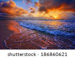 Colorful Beach Destination...