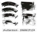 flat fan brush regular curved... | Shutterstock .eps vector #1868619124