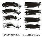 flat fan brush regular curved... | Shutterstock .eps vector #1868619127
