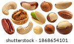 Different Nuts Collection ...