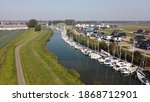 Numansdorp Harbor Seen From The ...