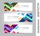 vector abstract design... | Shutterstock .eps vector #1868742754