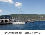 Yachts And Boats In Marina Of...