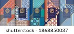 colorful packaging design of...   Shutterstock .eps vector #1868850037