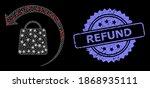 glare mesh web refund shopping... | Shutterstock .eps vector #1868935111