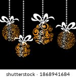 composition of hanging abstract ... | Shutterstock .eps vector #1868941684