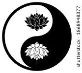 circular pattern in form of... | Shutterstock .eps vector #1868948377