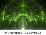 abstract dome like background... | Shutterstock . vector #186895625