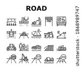 road construction collection... | Shutterstock .eps vector #1868989747