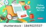 3d isometric flat vector... | Shutterstock .eps vector #1869025537