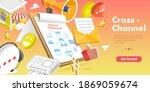 3d isometric flat concept of... | Shutterstock . vector #1869059674