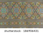 cloth fabric thai  | Shutterstock . vector #186906431