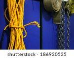 Safety ropes - stock photo