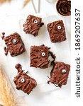 Halloween Chocolate Brownies...