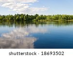 landscape series  river and... | Shutterstock . vector #18693502