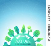 nature vector background....
