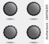 set of vector illustration... | Shutterstock .eps vector #186936305